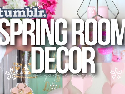 DIY Spring Room Decor | Tumblr Inspired