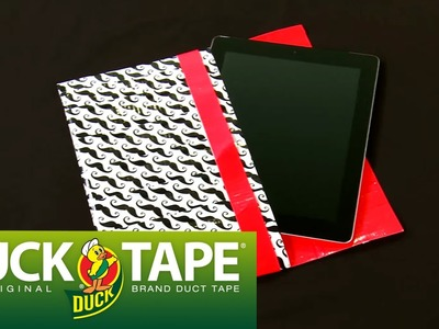 Duck Tape Crafts: How to Make a Tablet Cover