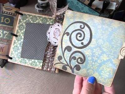 Envelope Scrapbook Album Using The Heirloom Stack From DCWV :)