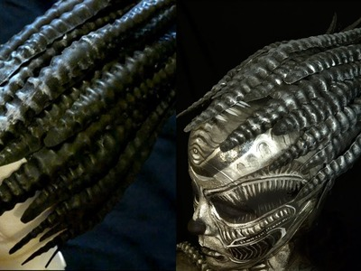 GIGER HEAD PIECE. DIY. With an special appearance!!!