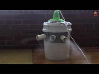 Homemade Air Conditioner  (Use Ice From water for better effect)