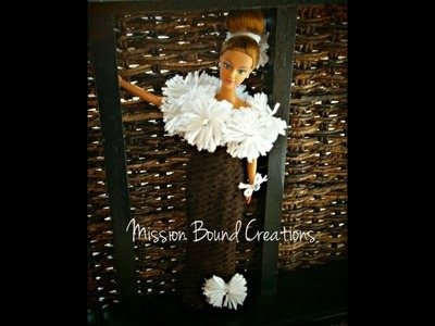 How to Loom Knit a Doll Dress - EASY