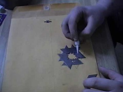 How to make a cheap ninja shuriken out of razor blades