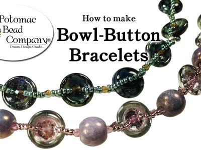 How to Make Cup Button Bracelets