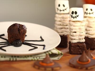 How to Make Spooky Halloween Snacks || KIN PARENTS