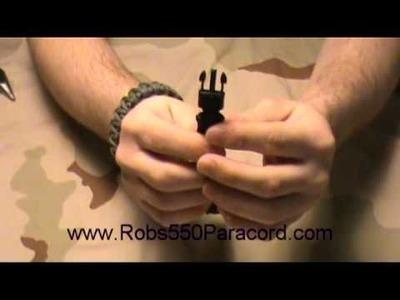 How to Unravel a Survival Bracelet : www.Robs550Paracord.com