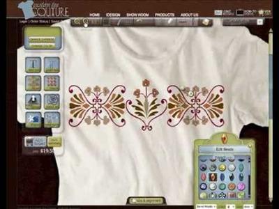 HowTo Apply Custom Rhinestone and beads