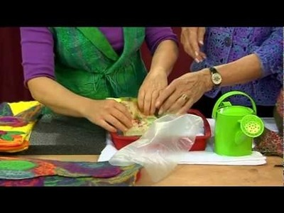 Knitting Daily TV Episode 406 - ArtFelting