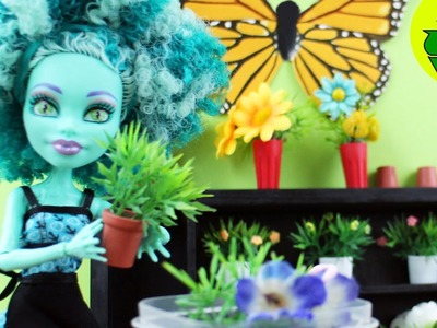 Make Doll Potted plants - Doll Crafts