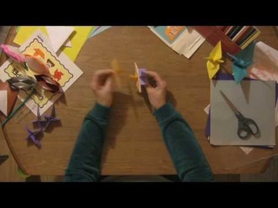 Origami & Paper Crafts : How to Make Paper 3-D Stars