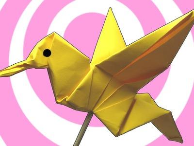 Origami Colibri Hummingbird Instructions