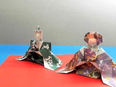 Origami Hina Ningyo Hinamatsuri Dolls by: Ken Hmoob