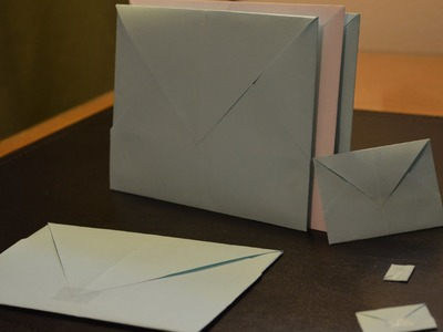 Origami: How to Make a Paper Envelope
