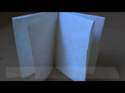 (ORIGAMI) how to make an 8-page book