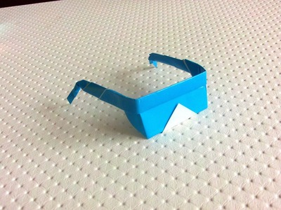 Origami sunglasses - Paper sunglasses (Easy) HD