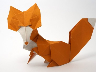 Origami Vixen.Fox (Román Díaz) - Not a tutorial