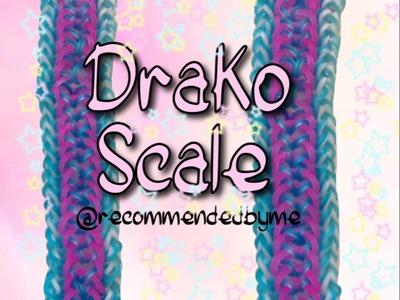 Rainbow loom-Drako Scale-How to