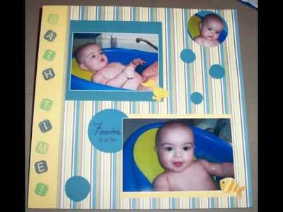 Scrappy Sarah shares her own scrapbook pages!