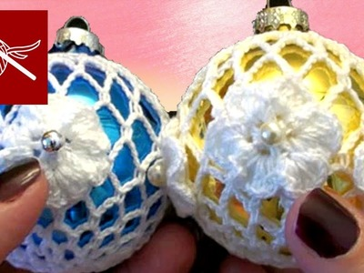 Thread Crochet Christmas Holiday Lace Ornament Crochet Geek