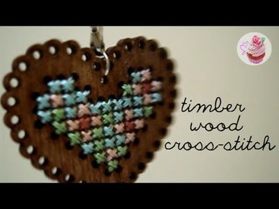 Timber cross-stitch kit