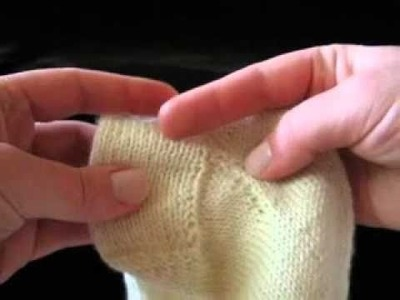 Top Down Sock Pattern Walk-Through