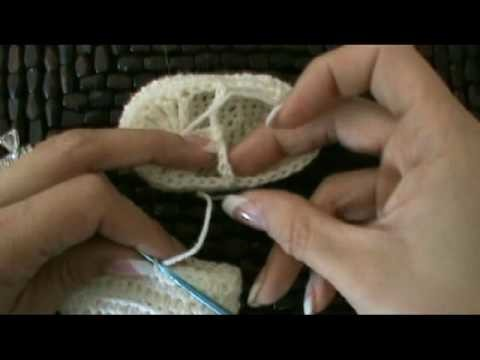 Crochet Mary Jane Baby Booties Slippers #5