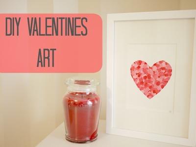 DIY Valentines art | Bella Coco