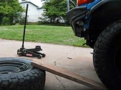 Easy De-Bead Then Re-Bead a Tire