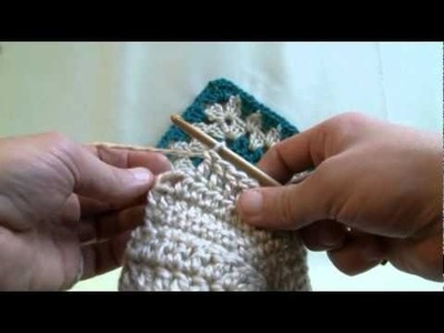 How To Double Crochet (North American Style)