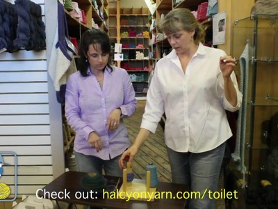Many Uses of Toilet Paper Rolls for Fiber Artists
