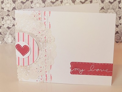 Valentines day card tutorial