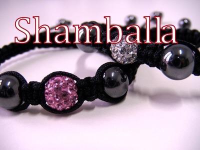 Beading DIY - Shamballa bracelet