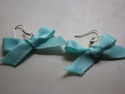 Cute Bow Tutorial [how to tie a craft bow]