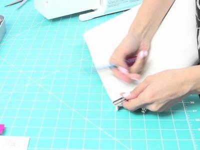 DIY: Color blocking Clutch