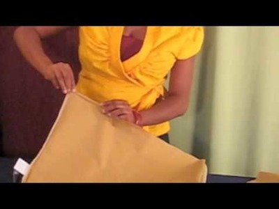 DIY: How-to Turn A Pillowcase Into A Drawstring Skirt (www.dgulleydesigns.com)