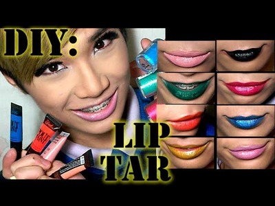 DIY: Lip Tar   ThePrinceOfVanity