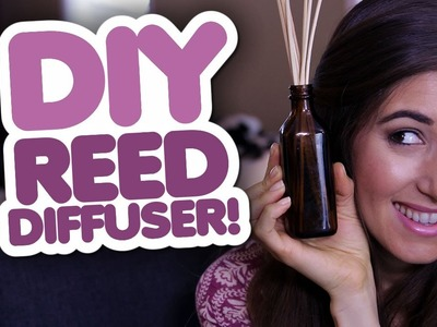 DIY Reed Diffuser! Homemade Home Products That Save You Money! (Clean My Space)