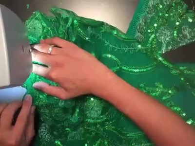 DIY Tinkerbell Dress Tutorial
