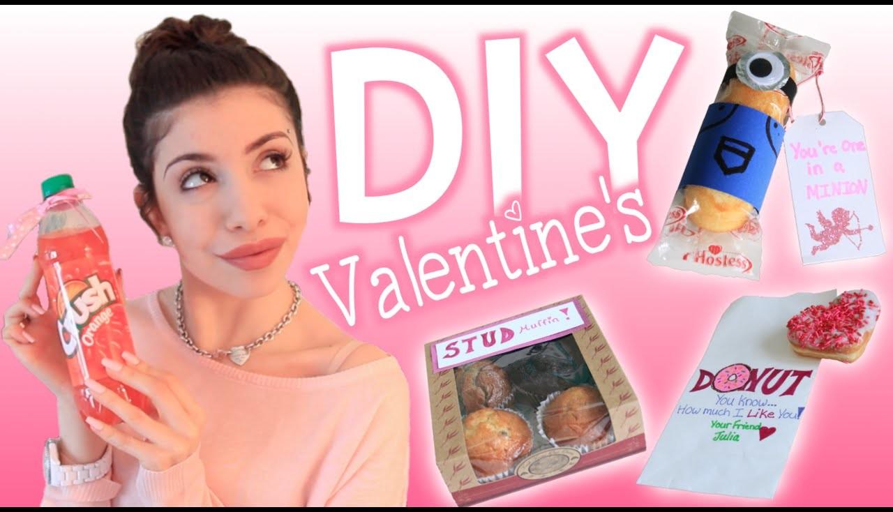 Easy Last Minute DIY Cute & Funny Valentine's Treats!
