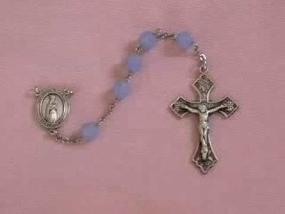 Fatima Rosary Swarovski Beads