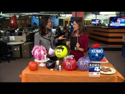 Halloween: No Carve Pumpkin Ideas with KOMO-TV DIY Diva Malia Karlinsky