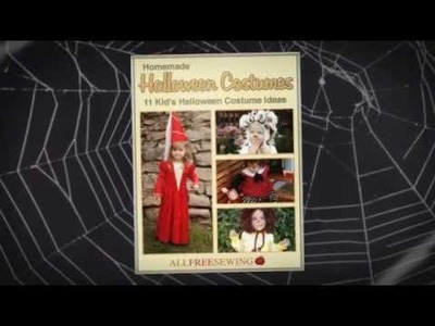 Homemade Halloween Costumes: 11 Kid's Costume Ideas eBook