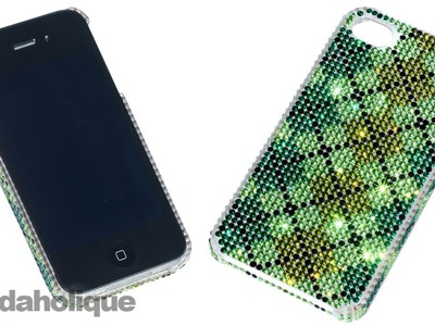 How to Embellish a Dimple Blingable Phone Case