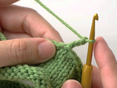 How to Knit and Crochet on the Same Fabric