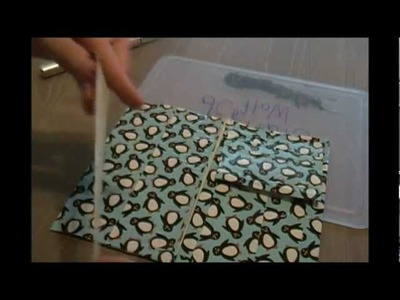 How to make a duct tape women's wallet Craft #2