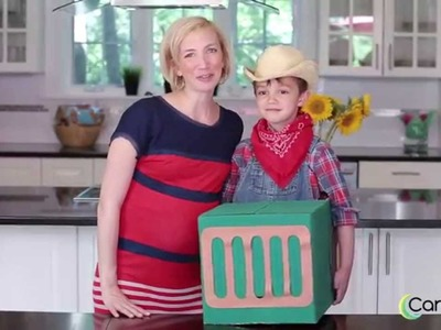 How to Make a Farmer and Tractor Costume