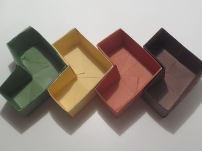 HOW TO MAKE A HEART-SHAPED ORIGAMI BOX ?