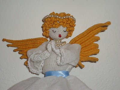 How to make Angel wings and curls in crochet