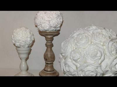 Papier & Stoff Rosen - Paper & Burlap Roses
