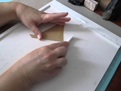 Tutorial~ Pockets For Scrapbook Albums & An Accordion Mini Share